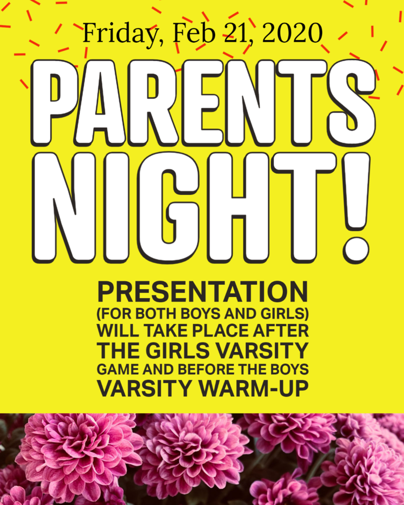 Parents Night Celebration