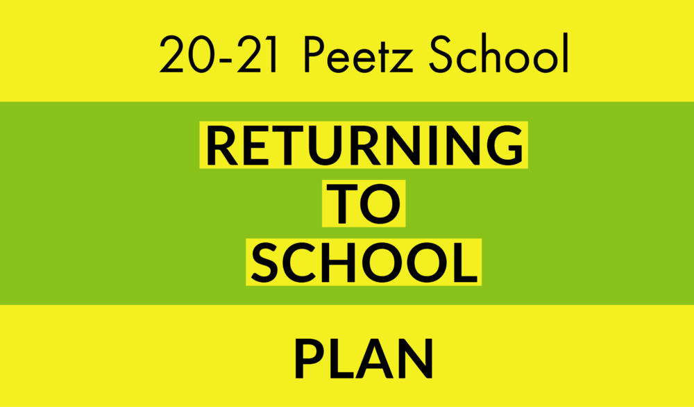 Peetz School Plans for In-Person Instruction
