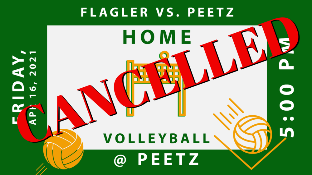 CANCELLED - VB vs Flagler 4/16