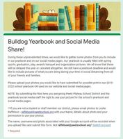 Bulldog Yearbook needs your help!