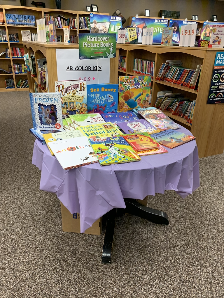 Hardcover picture book table