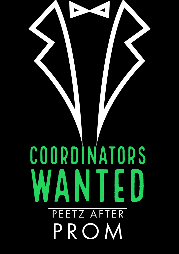 Wanted - after prom coordinator