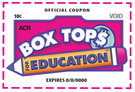 Send in Box Tops by March 1st