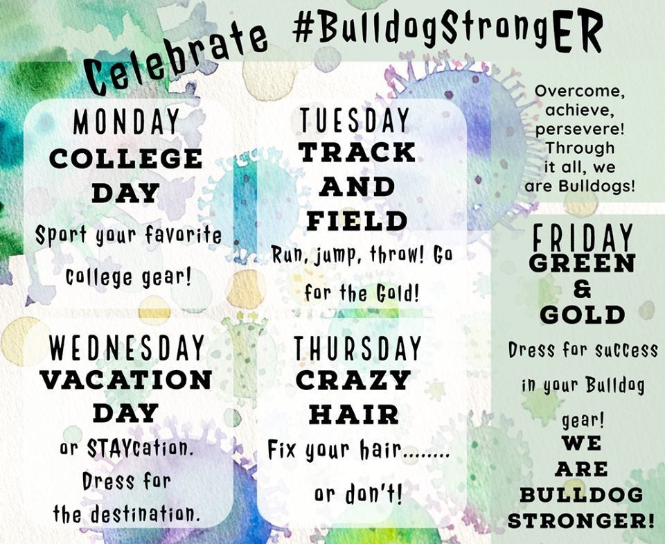 CELEBRATE #BulldogStrongER Vacation Day!
