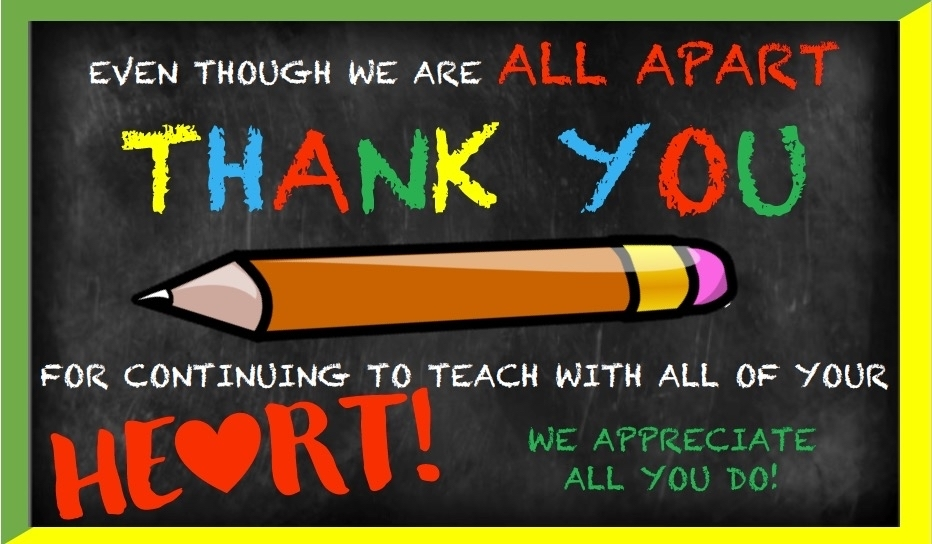 Thank you to teachers